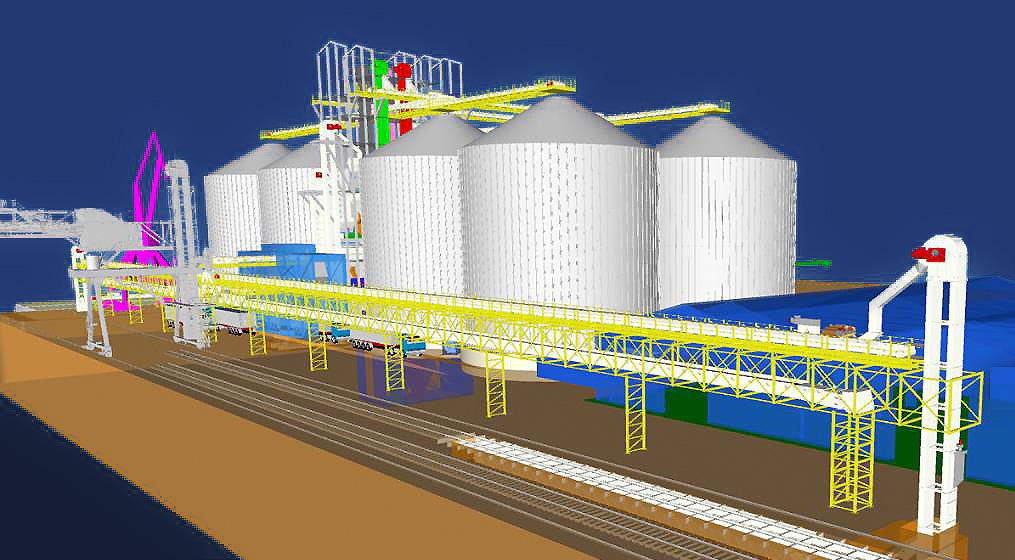 Viitorul terminal pentru cereale UMEX