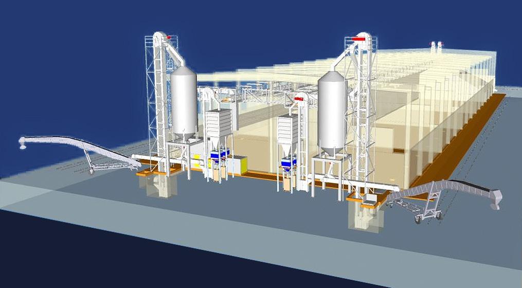 Viitorul terminal pentru fertilizatori UMEX